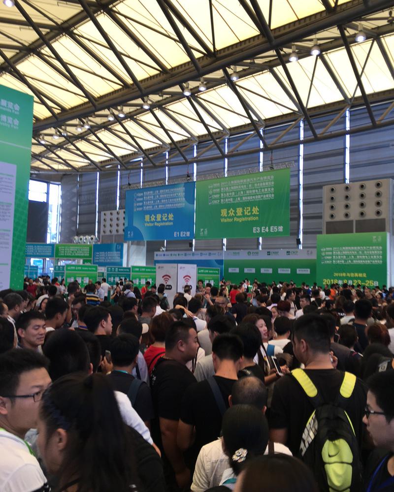 上海電池展示会の様子6