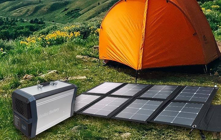 ゴイク電池のポータブル電源は様々な給電、充電方法があります