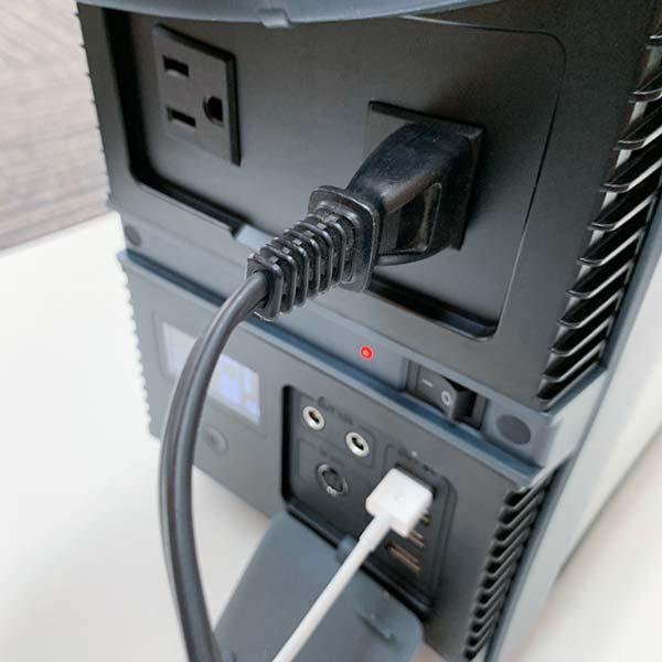 ゴイク電池 ポータブル電源1000W (ソーラーパネル付き)